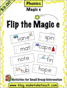 Flip the e