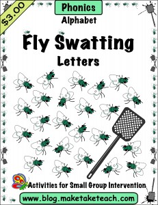 Fly Swatting Letters