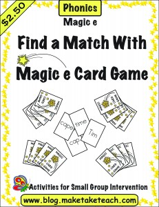 Magic e find a match