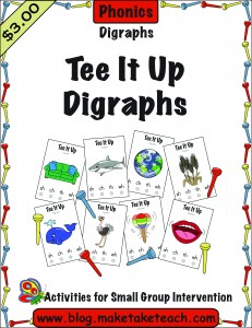 Tee it UP Digraphs