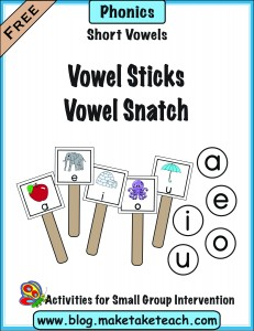 Vowel stick snatch