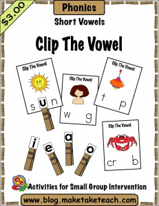 clip the vowel