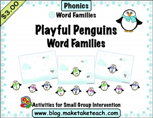 word family PENGUINS