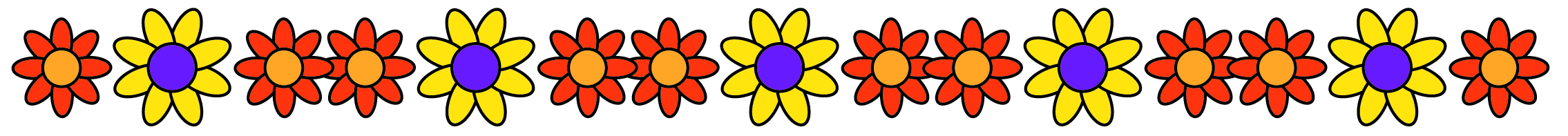 clipart line flower - photo #16