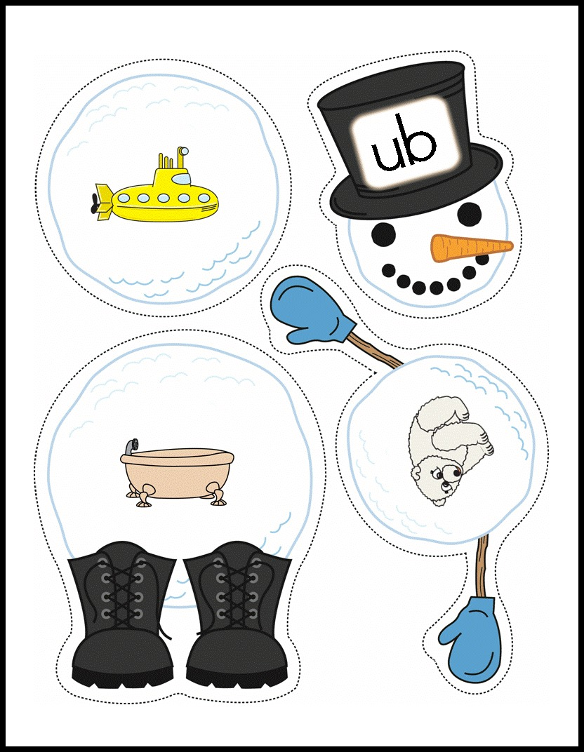 Snowman Word Familiesprepg3blogpic