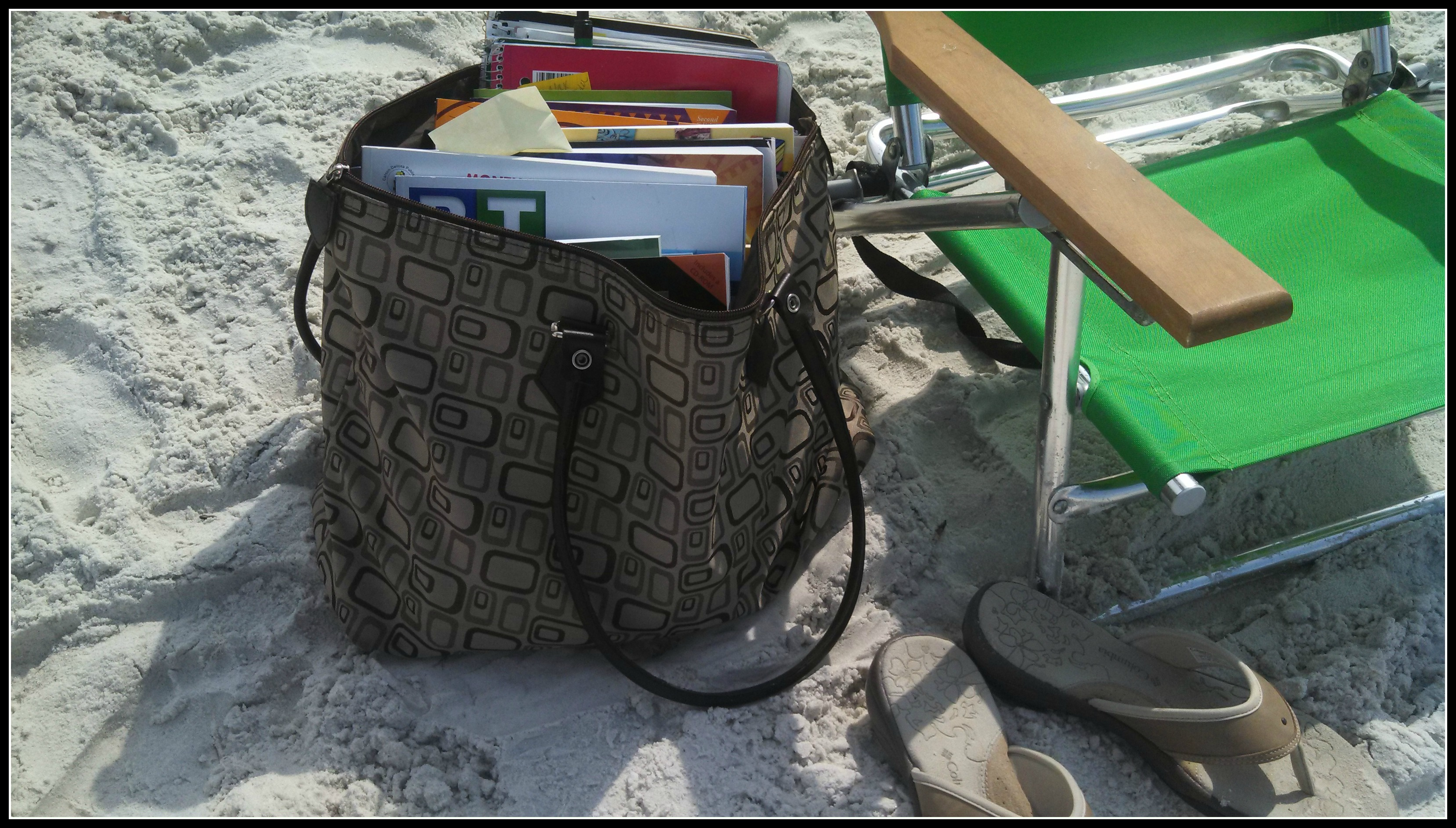 Beach readingblogpic