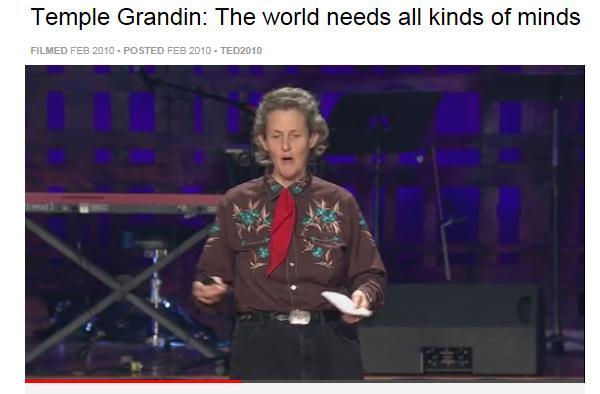 Temple Grandin video