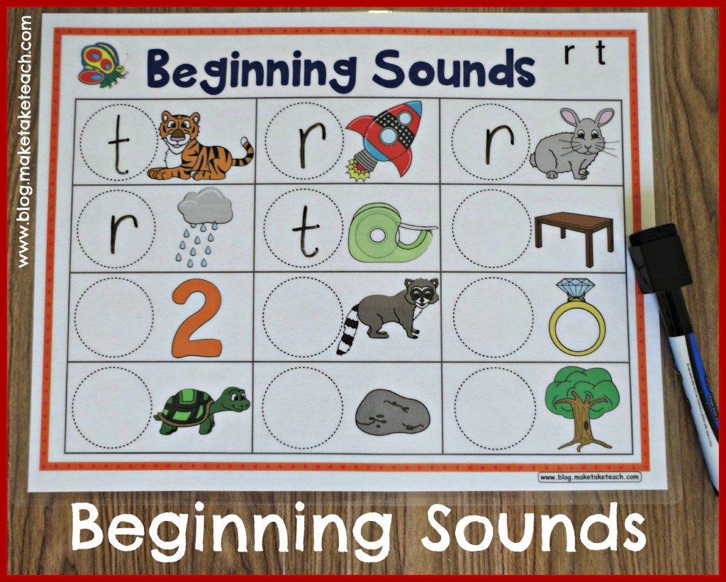 Beginning Sounds DE