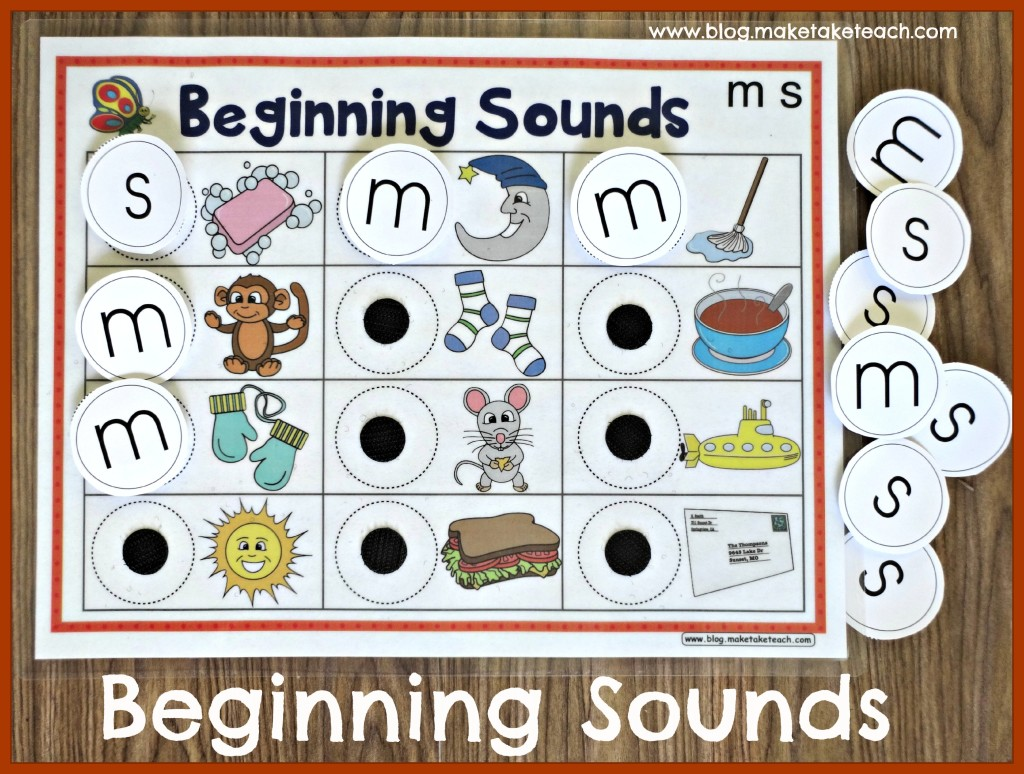 Beginning Sounds Velcro
