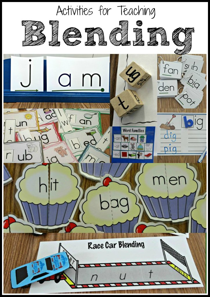 Teaching Students to Blend Words - Make Take & Teach