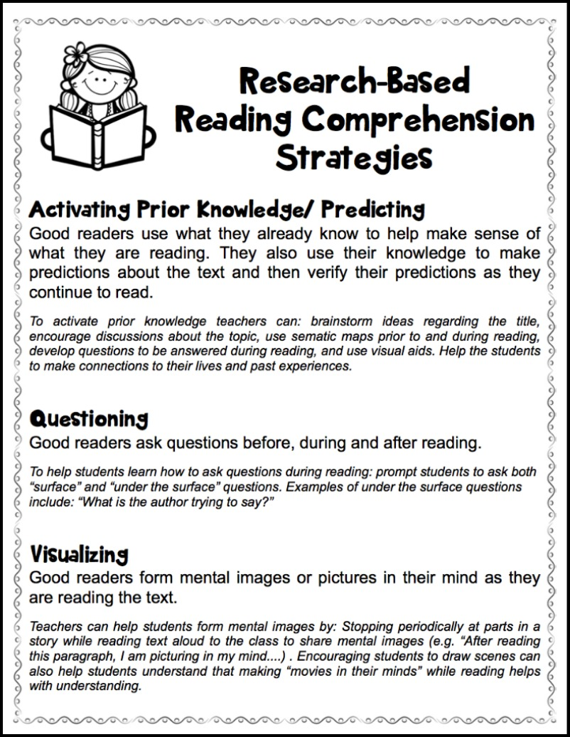 Teacher Reading Worksheets : Fostering thoughtful literacy make take teach