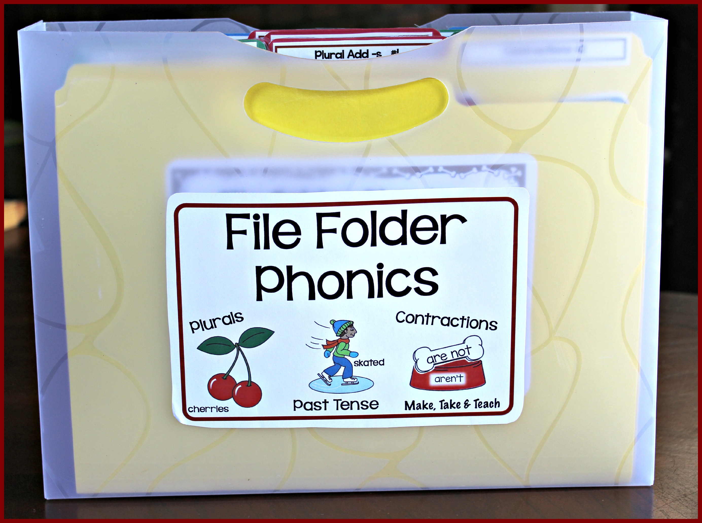 File Folder Phonicsborder