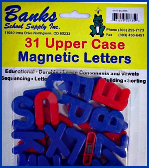 Banks Letters