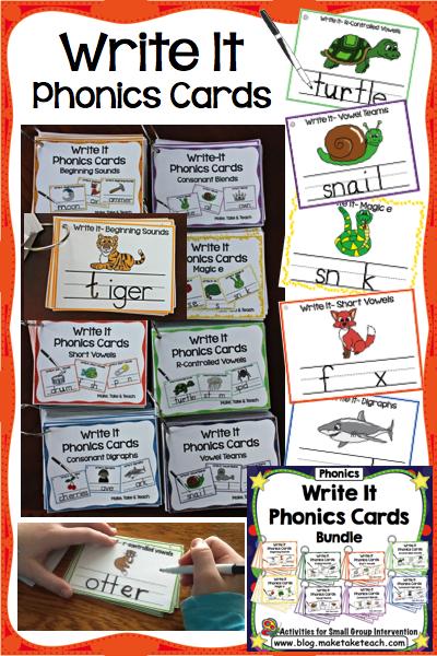 Write It Phonics Cards Bundle.001