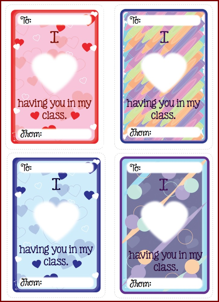 fileborder - Valentines For Students