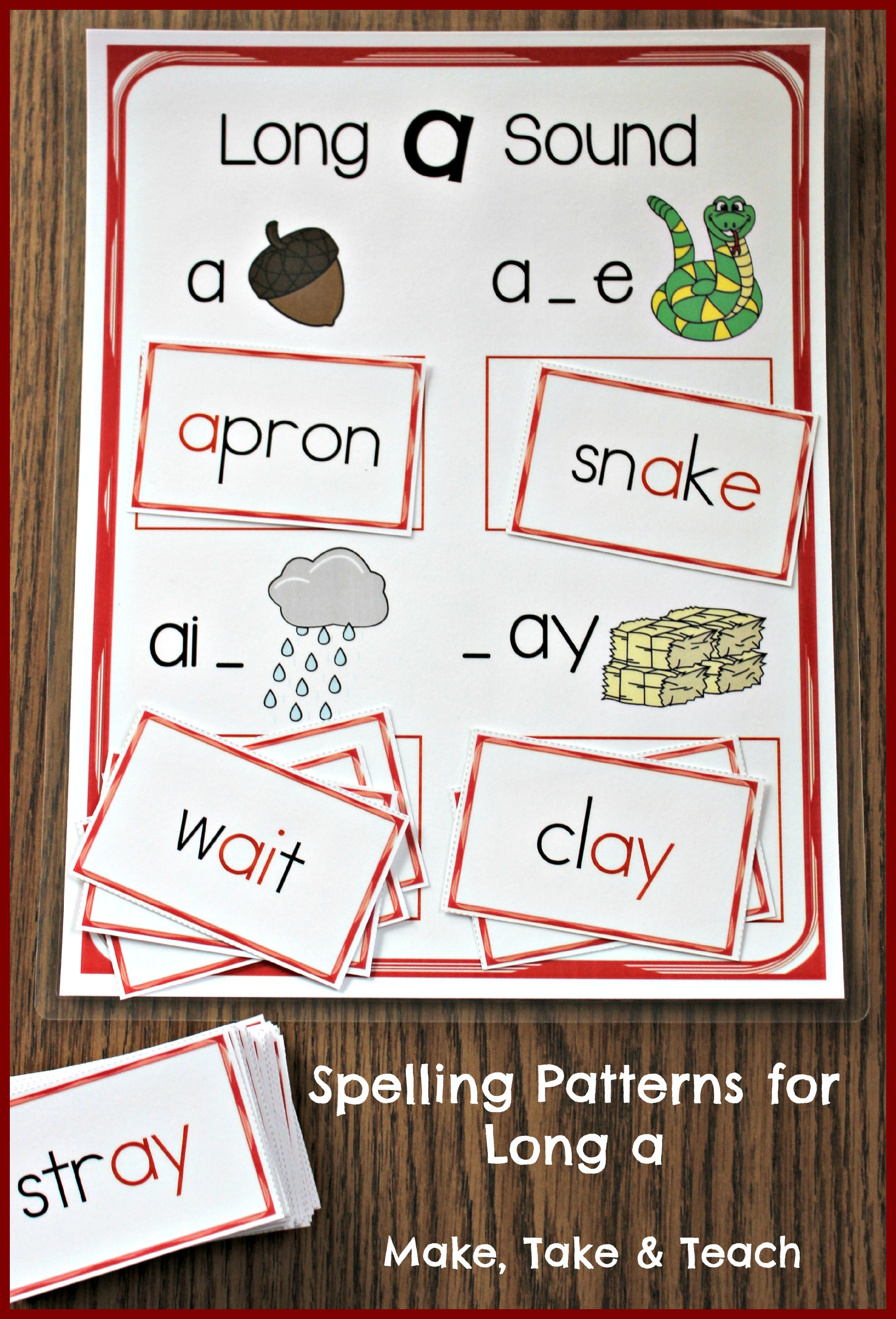 long a spelling patterns