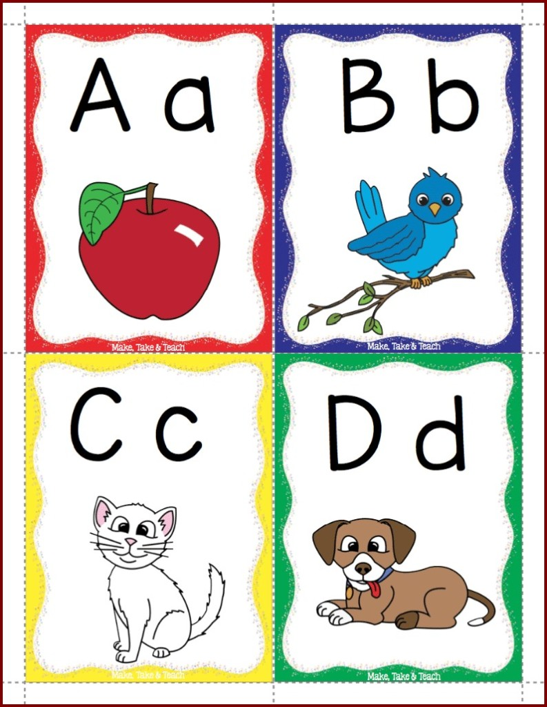 This is a photo of Adorable Printable Abc Flash Cards