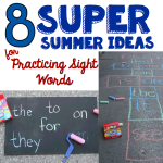 8Summer Sight Words Square.001