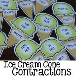 Ice Cream Cone ContractionsFeatur150.001