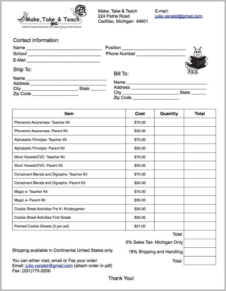 Order Form6.15