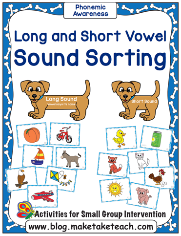 Long and Short Vowel Sound Sorting