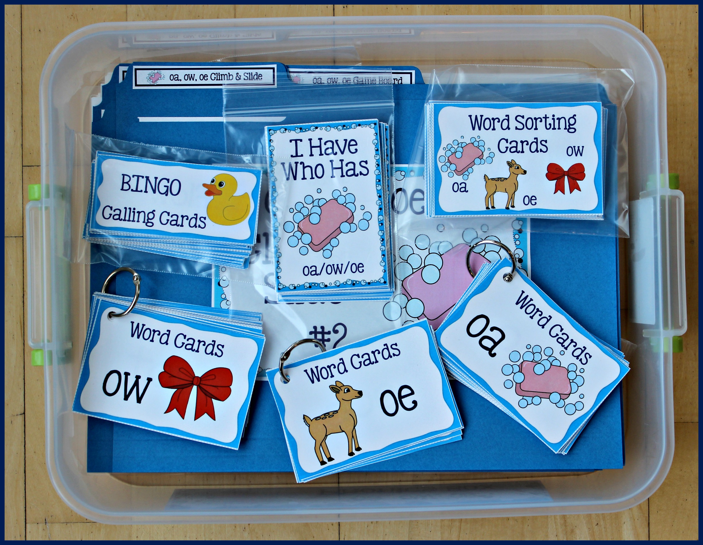 Activities for Teaching the oaowoe Digraphs