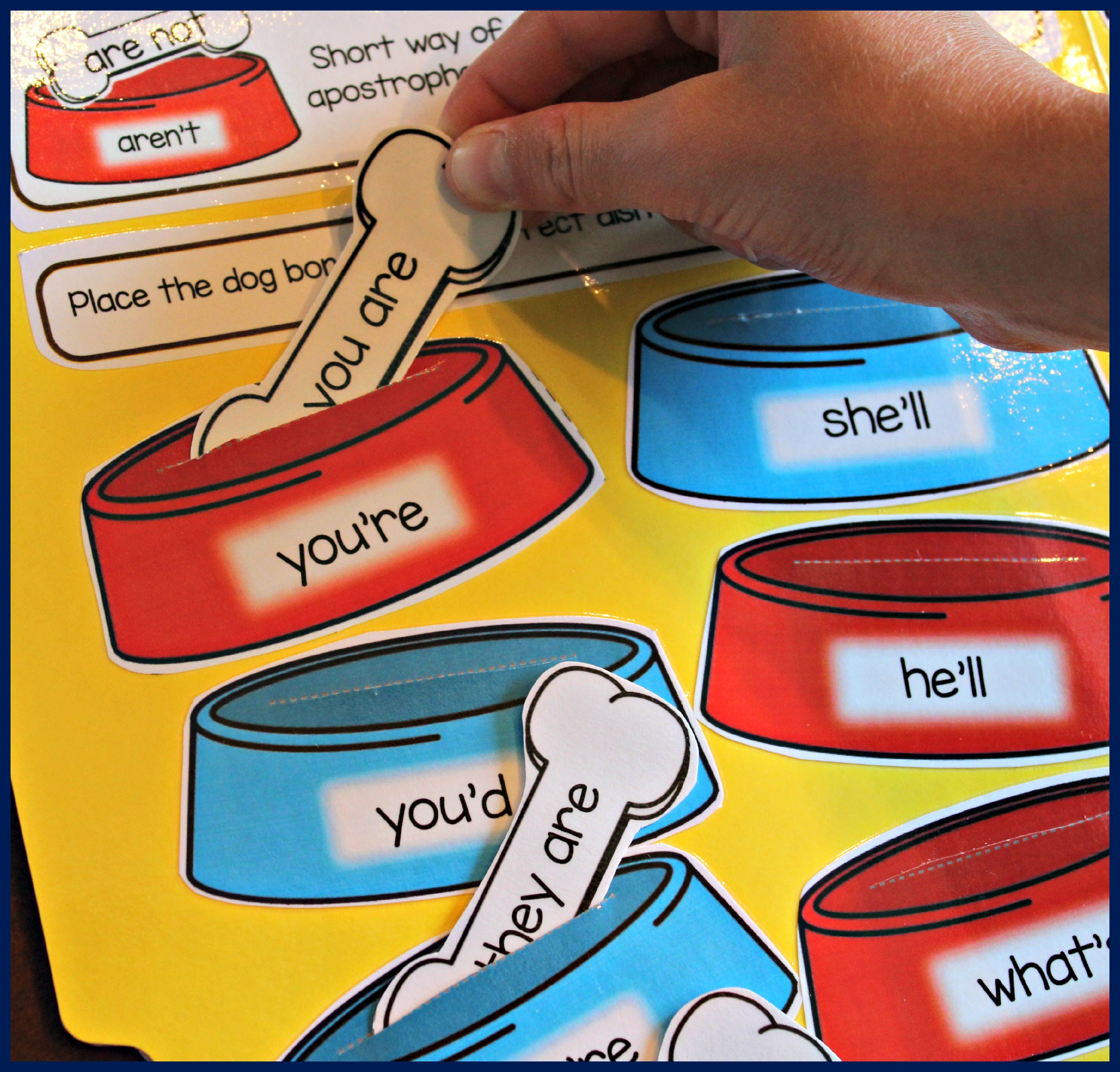 Contraction Games For Kids