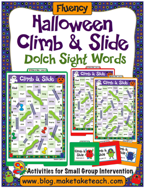 Dolch Sight Words Halloween