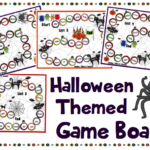 Halloween Themed Game Boards ***