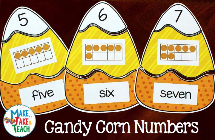 Candy Corn Numb.001