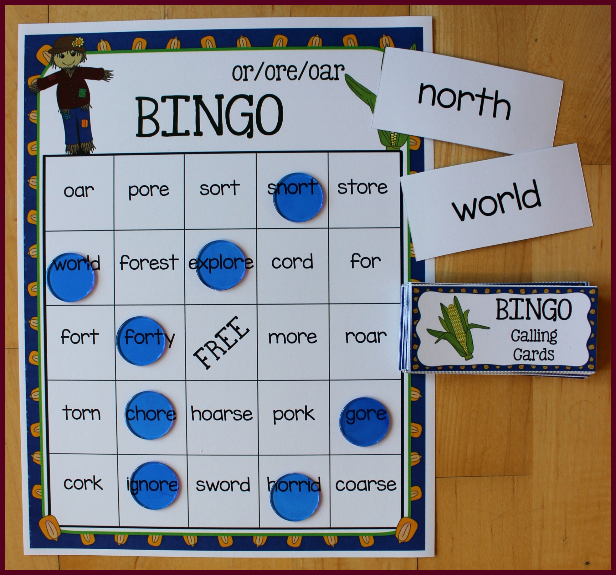 Hands-On Activities for Teaching or/oar/ore! - Make Take & Teach