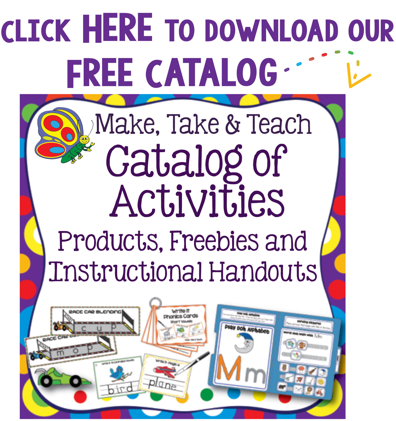 Make Take Teach Instructional Materials For Small Group Intervention