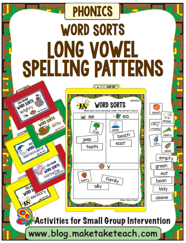 long vowel spelling patterns