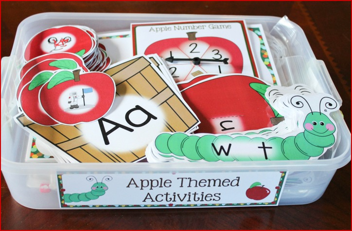 apple alphabet activities