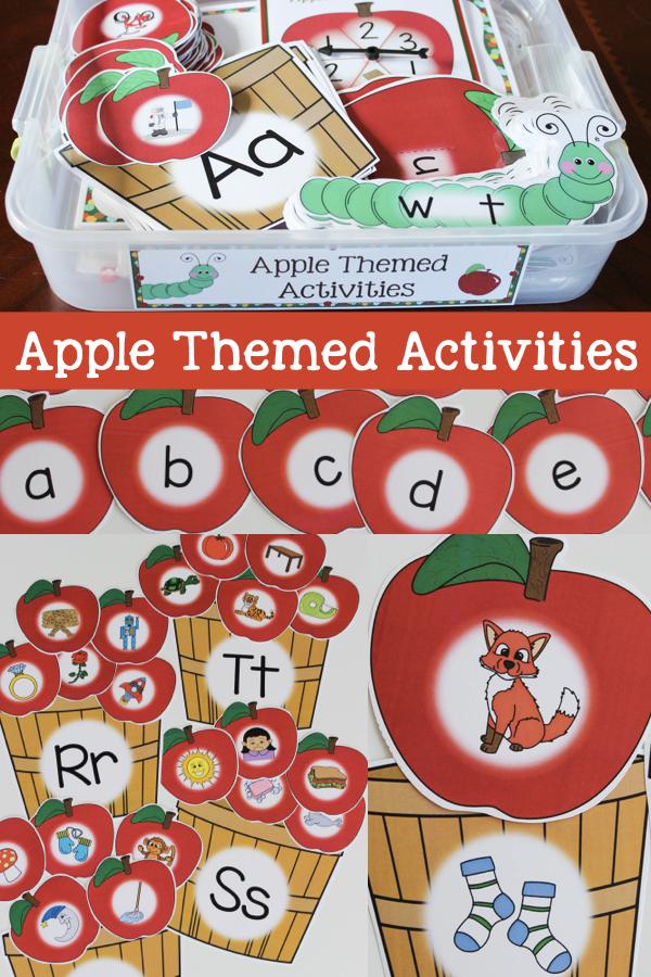 apple themed activities