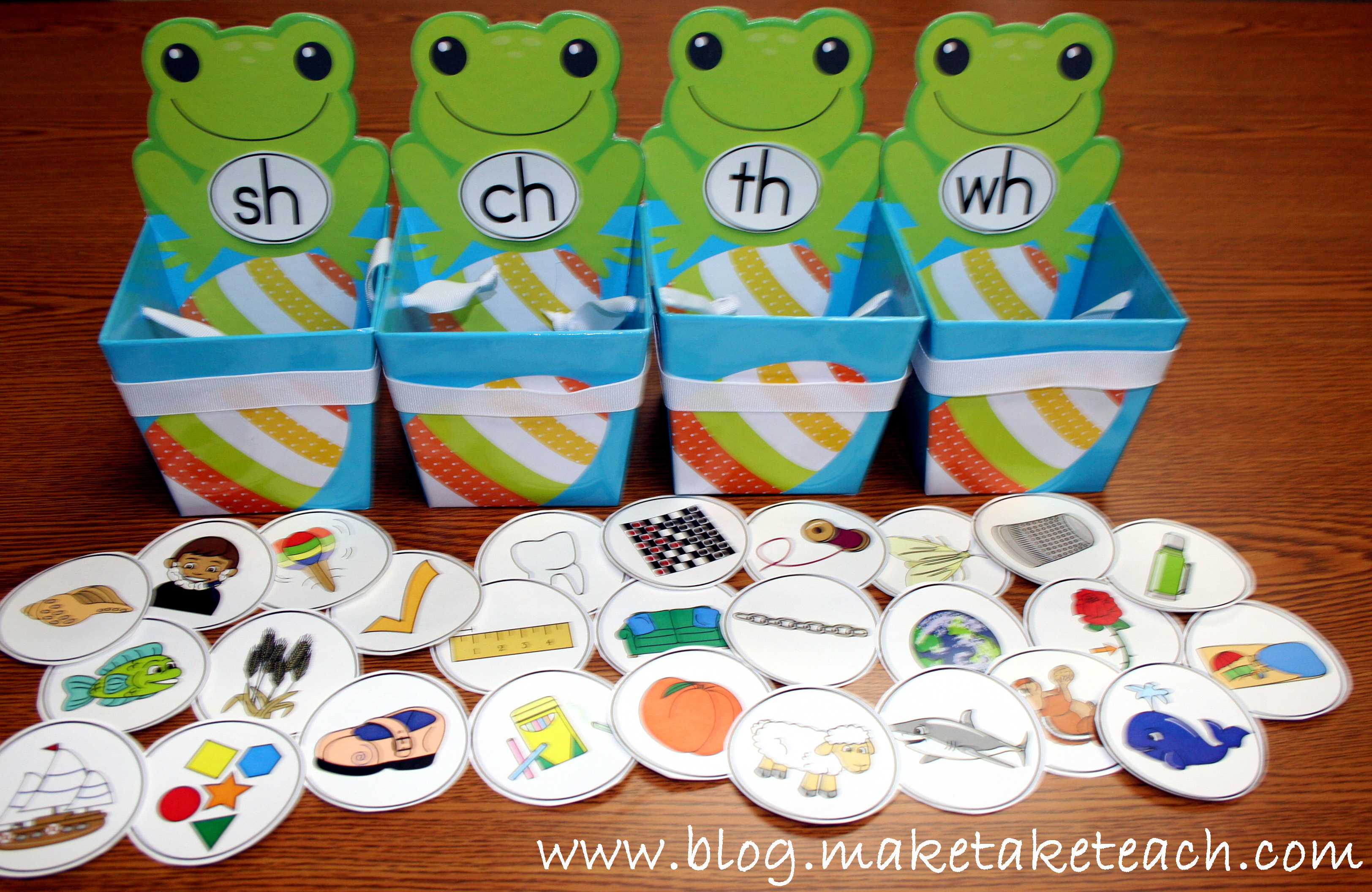 A Springtime Activity for Sorting Consonant Digraphs - Make Take & Teach