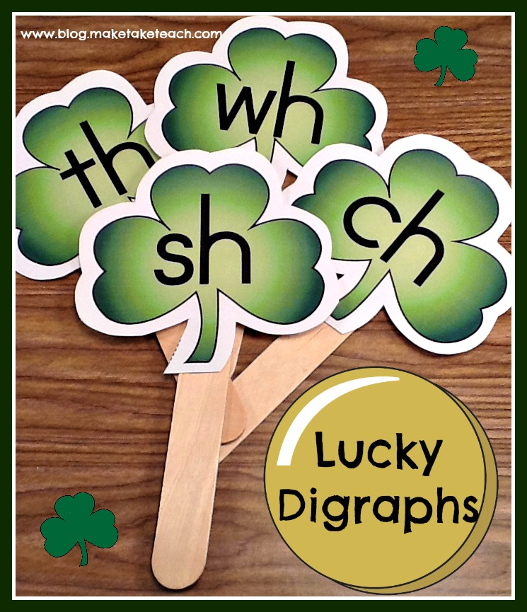 St  Patrick's Day Digraph Activities - Make Take & Teach