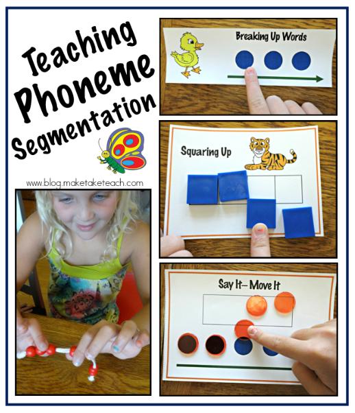 Teaching Phoneme Segmentation Make Take Teach
