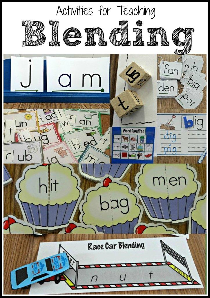 Teaching Students to Blend Words - Make Take & Teach