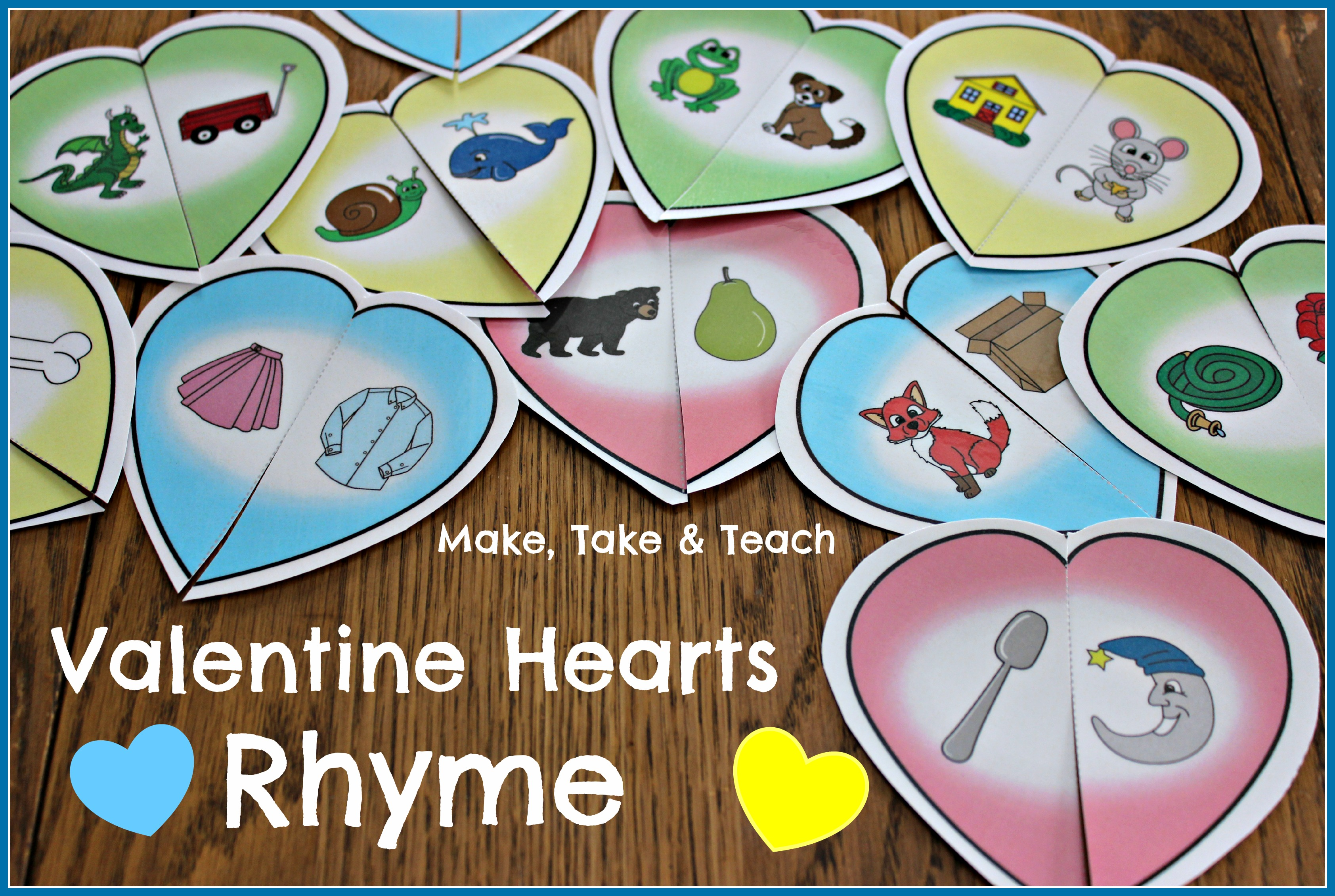 Super Fun Activities For Valentine S Day Make Take Amp Teach