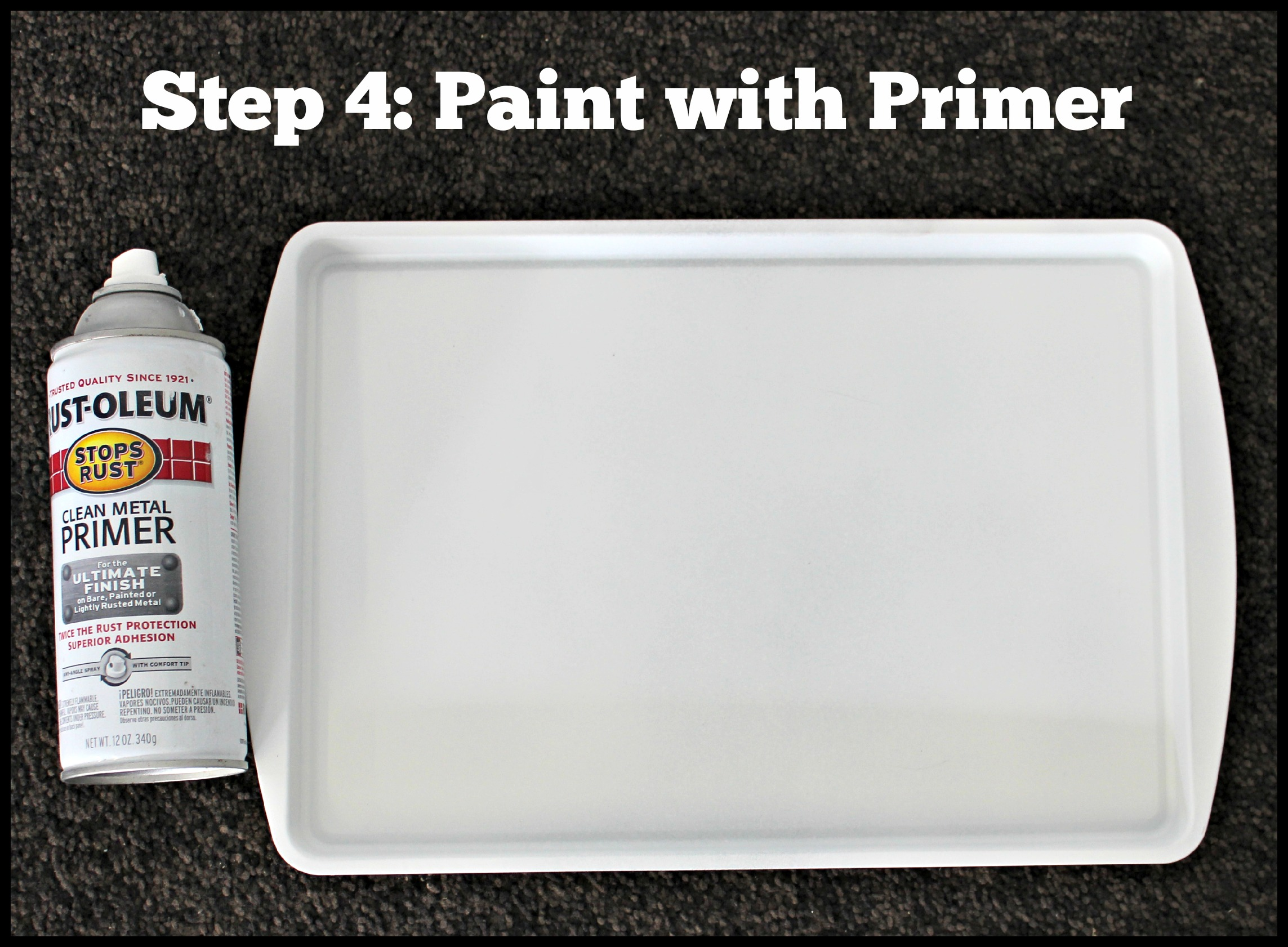 How to Paint a Cookie Sheet - Make Take & Teach