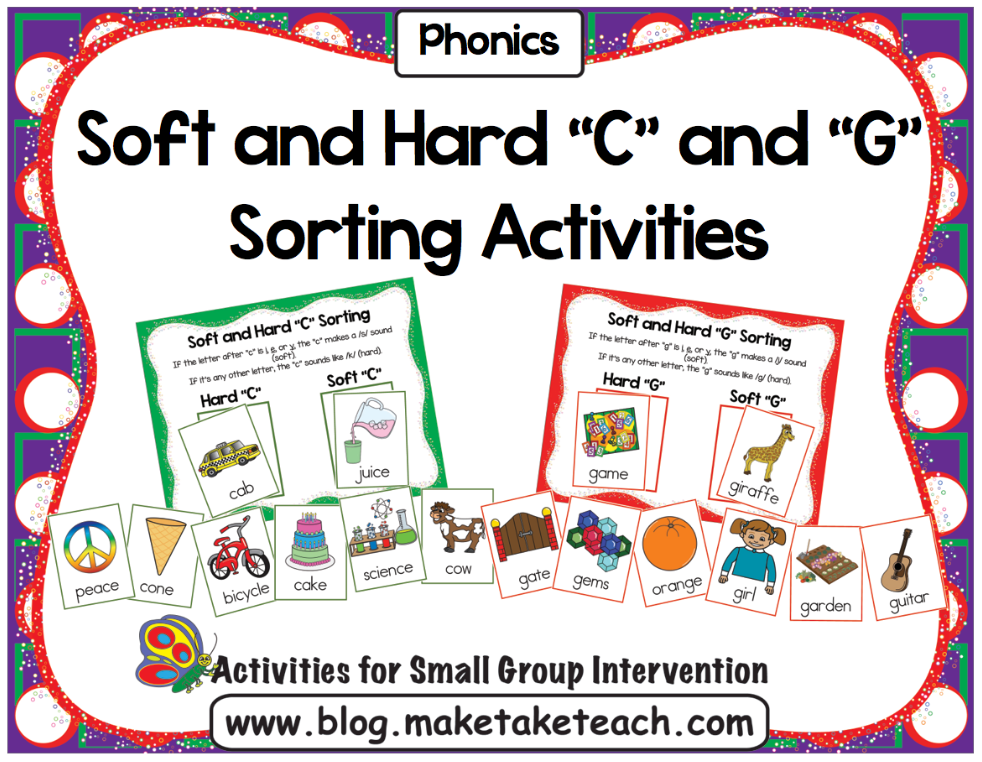 Printable Worksheets soft and hard g worksheets : Teaching the Hard and Soft