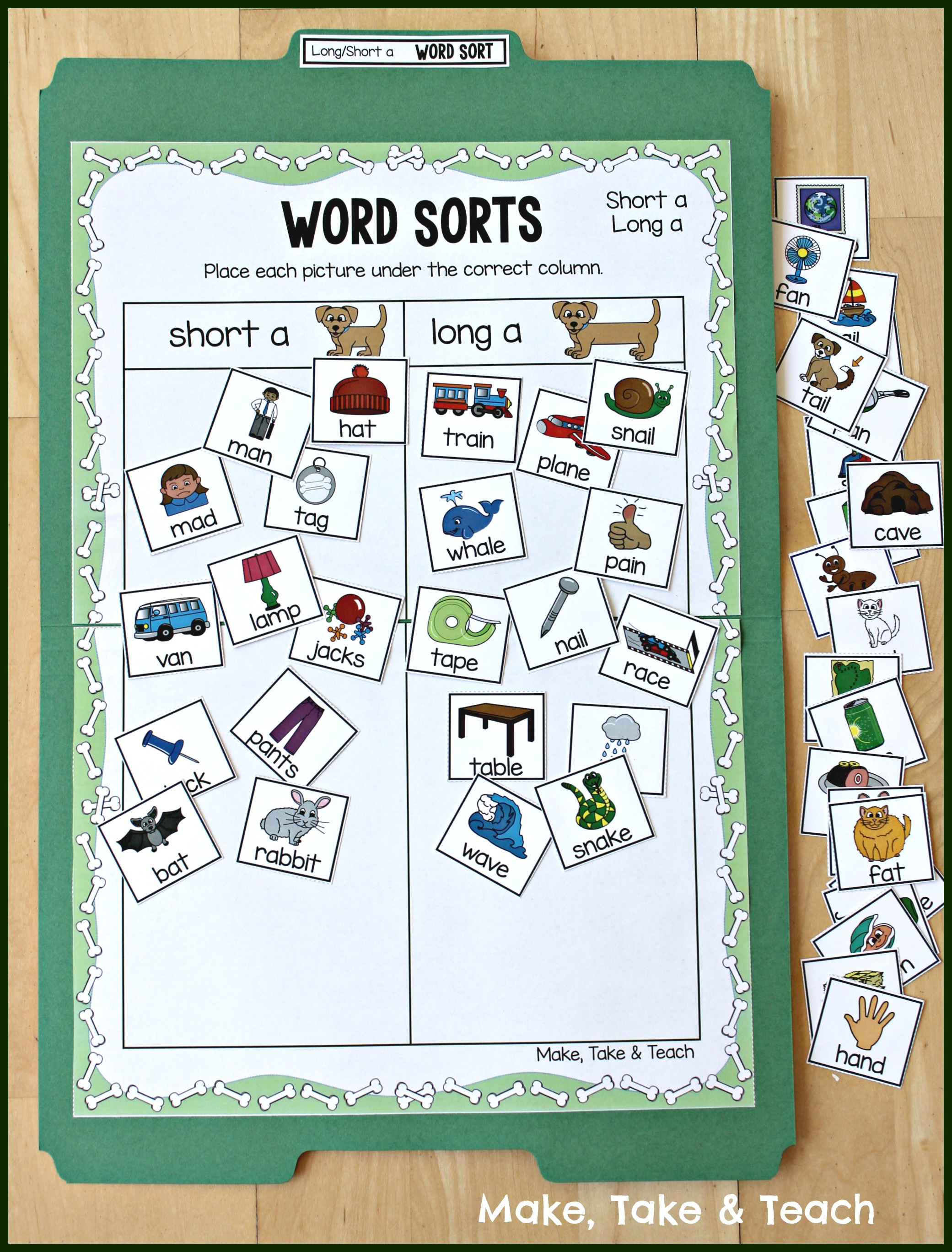 The Long And Short Of Decorating Your Room In Bohemian: Teaching Long And Short Vowel Sounds Using Picture Sorting